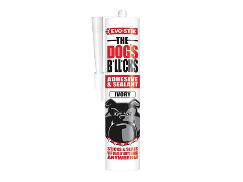 The Dog's B*ll*cks Multipurpose Adhesive & Sealant  Ivory 290ml