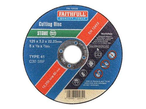 Stone Cut Off Disc 125 x 3.2 x 22.23mm