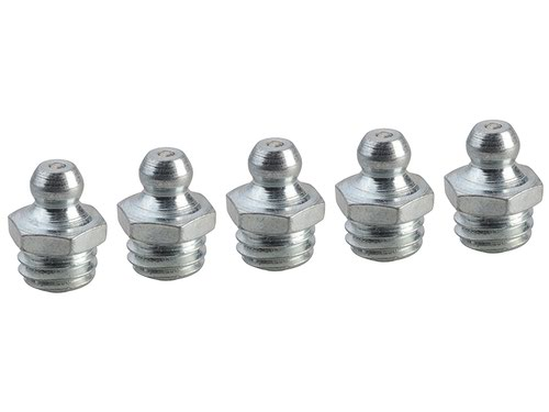 Grease Nipple Straight M10 x 1.5 (Pack 5)