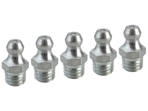 Grease Nipple Straight M8 x 1.25 (Pack 5)