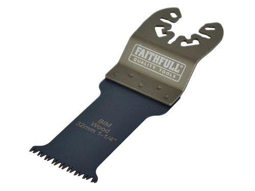 Premium Arc Cut Hardwood Bi-Metal Blade 32mm