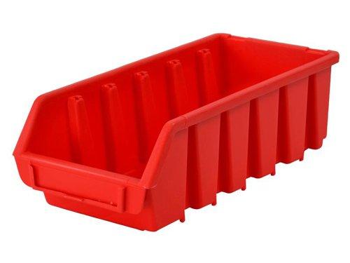 Interlocking Storage Bin Size 2L Red 116 x 212 x 75mm