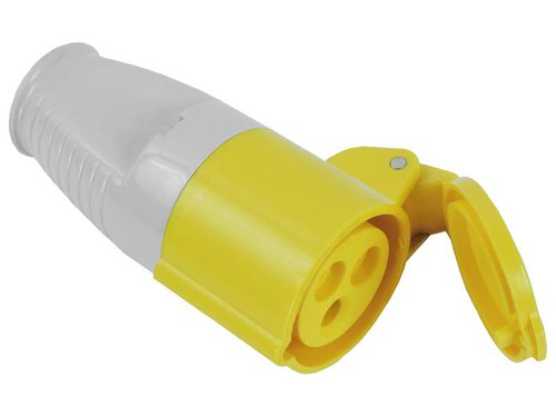 Yellow Socket 16A 110V