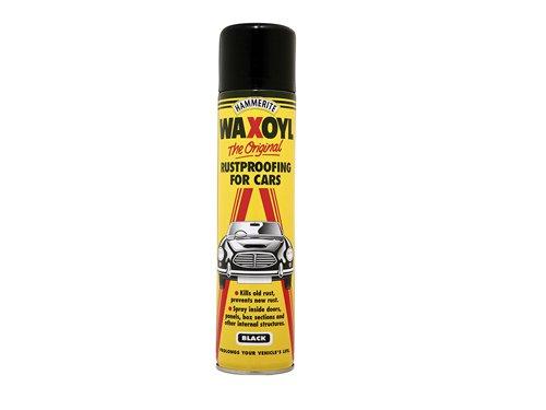 Waxoyl Black Aerosol 400ml