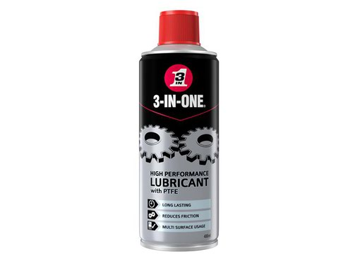 3-IN-ONE High-Performance Lubricant with PTFE 400ml