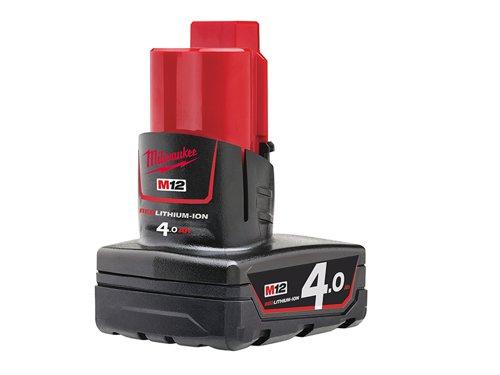 M12 B4 REDLITHIUM-ION™ Battery 12V 4.0Ah Li-ion