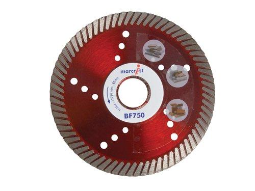 BF750 Diamond Blade Fast Precision Cut 230 x 22.2mm