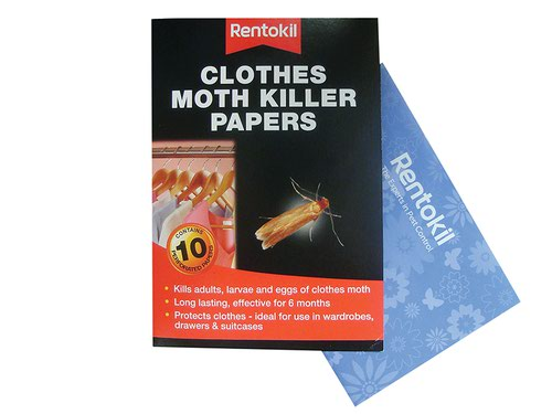 Clothes Moth Papers (Pack 10)