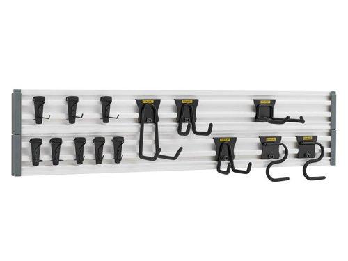 Track Wall System Starter Kit, 20 Piece