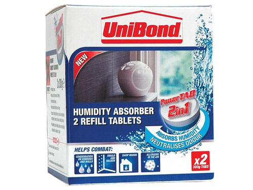 Small Moisture Absorber Neutral Power Tab Refill (Pack 2)