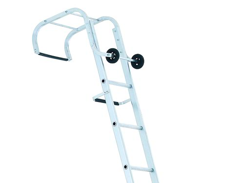 Industrial Roof Ladder 1-Part 12 Rungs 4.05m