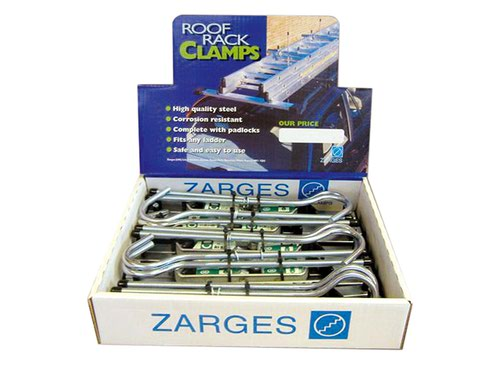 Roof Rack Clamps Display (5 Pairs)