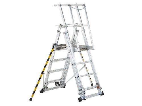 ZAP 1 Access Platform, Platform Height 1.0/1.3/1.6/1.8m 4 - 7 Rungs