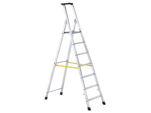 Trade Platform Steps, Platform Height 1.48m 7 Rungs