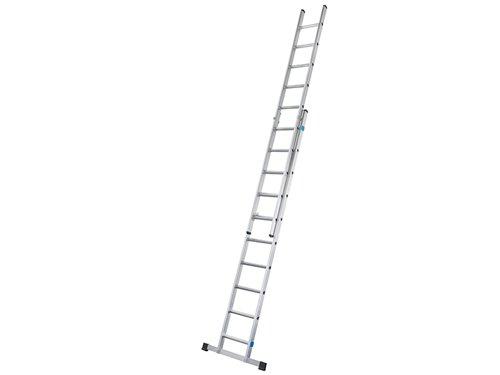 Everest 2DE Extension Ladder 2-Part D-Rungs 2 x 16