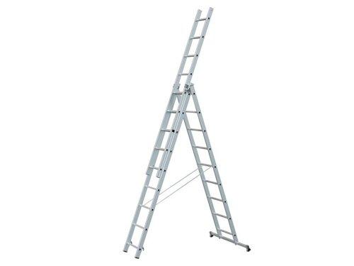 Light Trade Combination Ladder 3-Part 3 x 7 Rungs