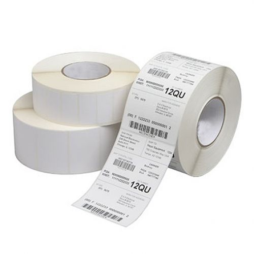 Compatible Zebra DT Label White 76.2mmx25.4mm (2000 per roll)