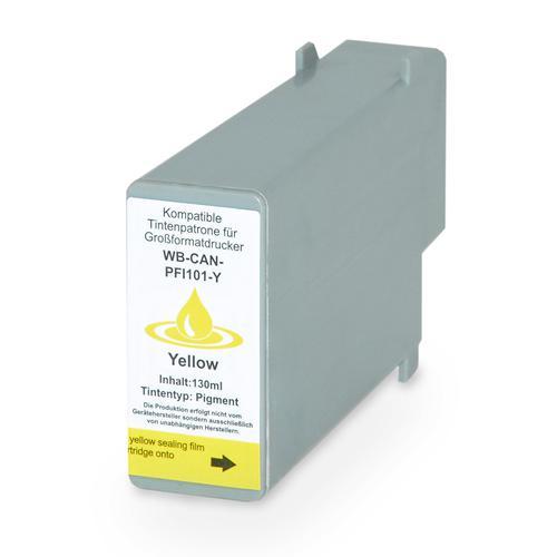 Compatible Canon Inkjet PFI-101Y 0886B001 Yellow 130ml *7-10 day lead*