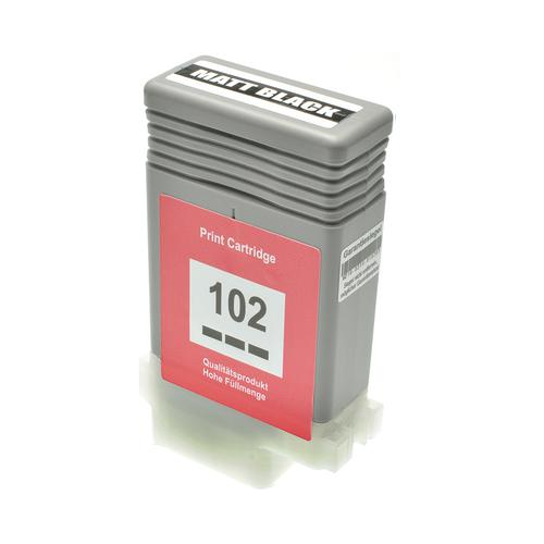 Compatible Canon Inkjet PFI-102MBK 0894B001 Matt Black 130ml *7-10 Day Lead*