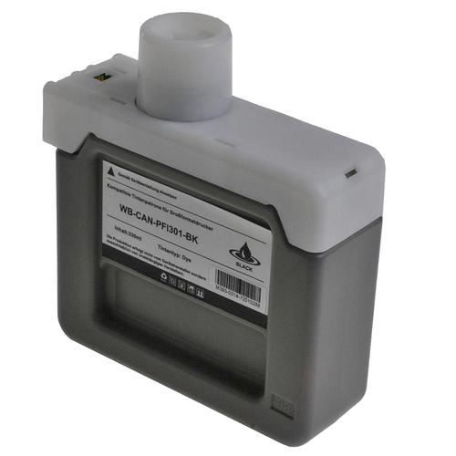 Compatible Canon Inkjet PFI-301BK 1486B001 Black 330ml *7-10 Day Lead*