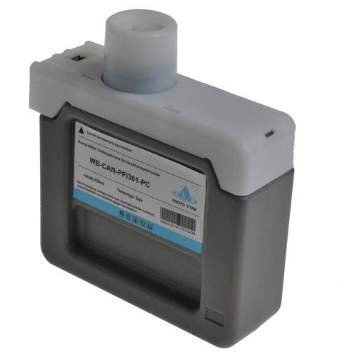 Compatible Canon Inkjet PFI-301PC 1490B001 Photo C 330ml *7-10 Day Lead*