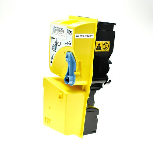 Compatible Kyocera Toner TK-820Y 1T02HPAEU0 Yellow 7000 Page Yield *7-10 Day Lead*