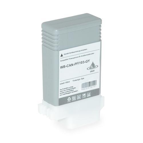 Compatible Canon Inkjet PFI-103GY 2213B001 Grey 130ml *7-10 day lead*