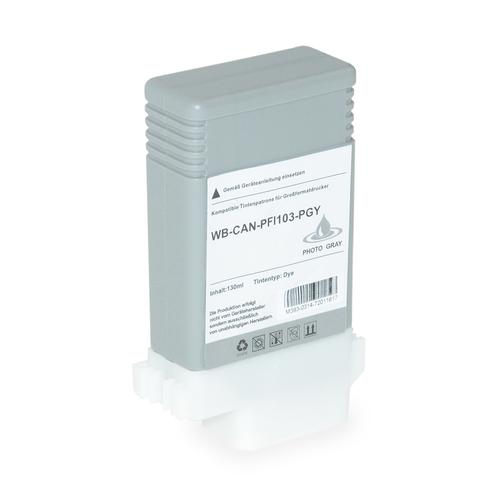 Compatible Canon Inkjet PFI-103PGY 2214B001 Photo Grey 130ml *7-10 Day Lead*