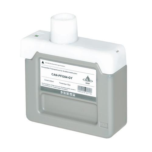 Compatible Canon Inkjet PFI-304GY 3858B005 Grey 330ml *7-10 Day Lead*