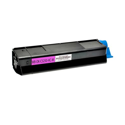Compatible OKI Toner 42127455 Magenta 6000 Page Yield *7-10 Day Lead*