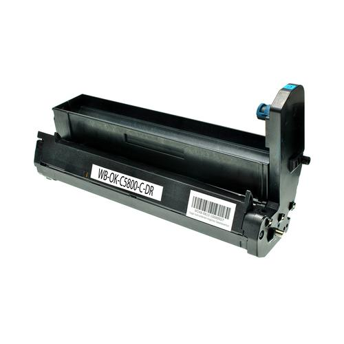 Compatible OKI Drum 43381723 Cyan 20000 Page Yield *7-10 Day Lead*