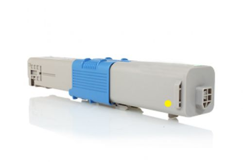 Compatible OKI Yellow C301 / C321 44973533 1500 Page Yield