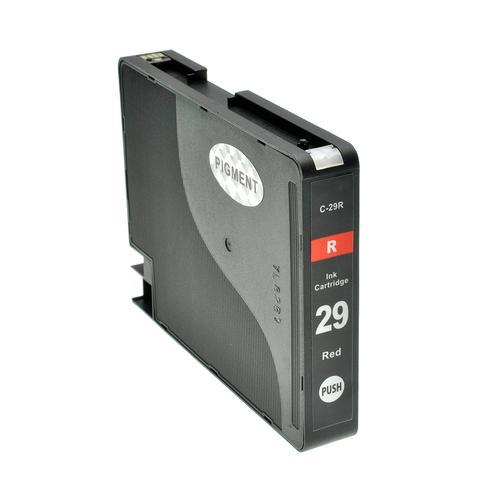 Compatible Canon Inkjet PGI-29R 4878B001 Red 36ml *7-10 Day Lead*