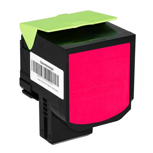 Compatible Lexmark Toner 800X3 80C0X30 Magenta 4000 Page Yield *7-10 Day Lead*