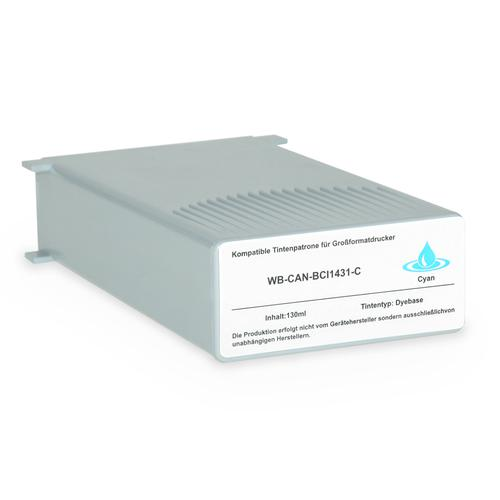 Compatible Canon Inkjet BCI-1431C 8970A001 Cyan 130ml *7-10 day lead*