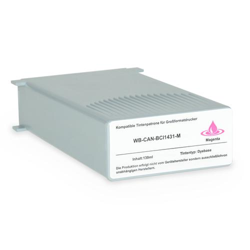 Compatible Canon Inkjet BCI-1431M 8971A001 Magenta 130ml *7-10 Day Lead*