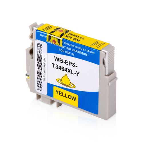Compatible Epson Inkjet 34 C13T34644010 Yellow 14ml *7-10 Day Lead*