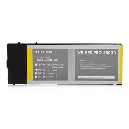 Compatible Epson Inkjet T5654 C13T565400 Yellow 220ml *7-10 day lead*