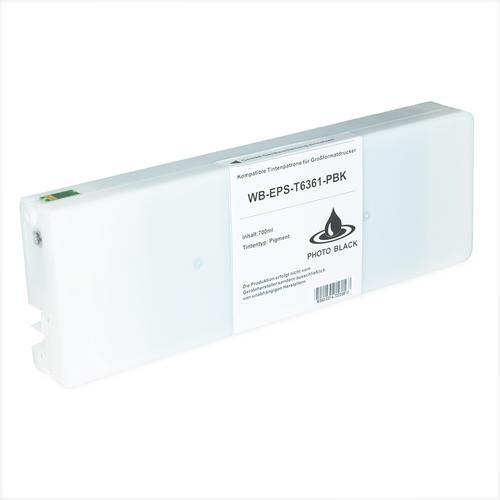 Compatible Epson Inkjet T6361 C13T636100 Photo Black 700ml *7-10 day lead*