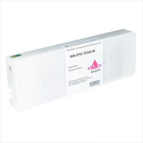 Compatible Epson Inkjet T6363 C13T636300 Magenta 700ml *7-10 day lead*