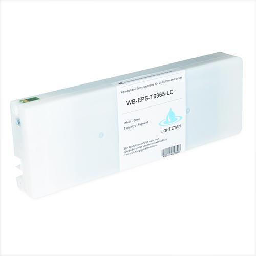 Compatible Epson Inkjet T6365 C13T636500 Light C 700ml *7-10 Day Lead*