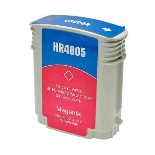 Compatible HP Inkjet 12 C4805A Magenta 62ml *7-10 Day Lead*
