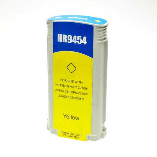Compatible HP Inkjet 70 C9454A Yellow 130ml *7-10 day lead*
