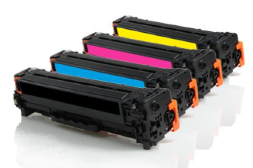 Compatible HP Multi-Pack CC530 304A Assorted >3500 each Page Yield