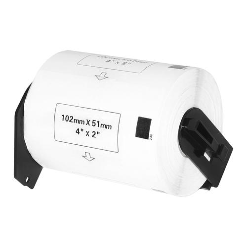 Compatible Brother DK-11240 White Labels 102mmx51mm *7-10 day lead*