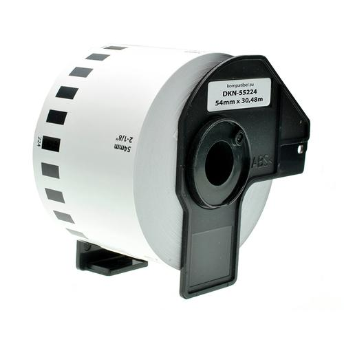 Compatible Brother DK-N55224 White Labels 54mmx30/48m *7-10 Day Lead*