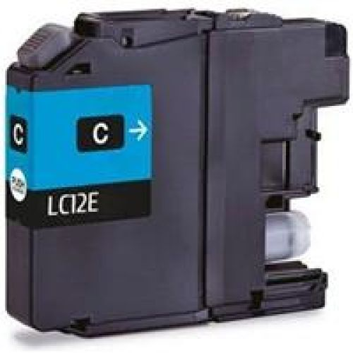 Compatible Brother CLC12E Cyan 1200 Page Yield