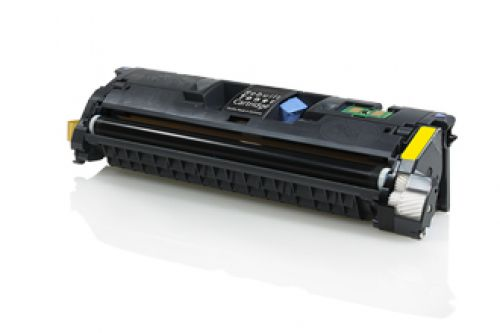 Compatible HP Q3962A / C9702 / Canon 701 Yellow 4000 Page Yield