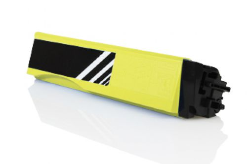 Compatible Kyocera TK540Y TK-540 Yellow 4000 Page Yield