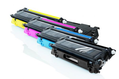 Compatible Brother Multi-Pack TN135  Assorted >4000 each Page Yield
